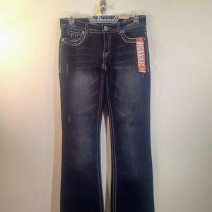 NWT Hydraulic Lola Boot Cut Jeans 13/14 R